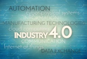Industry 4.0 Background Digital Theme